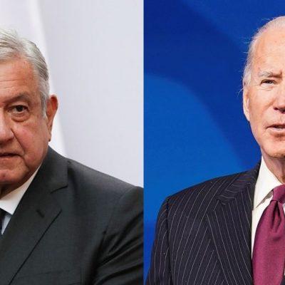 Llamada este viernes entre Joe Biden y López Obrador