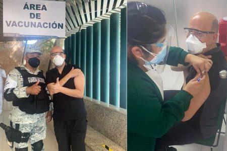 La vacuna contra Covid-19, 'mucho más que oro molido', dice médico del IMSS Yucatán