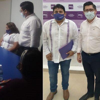Ciudadano presenta carta de intención para buscar una diputación local por el PES