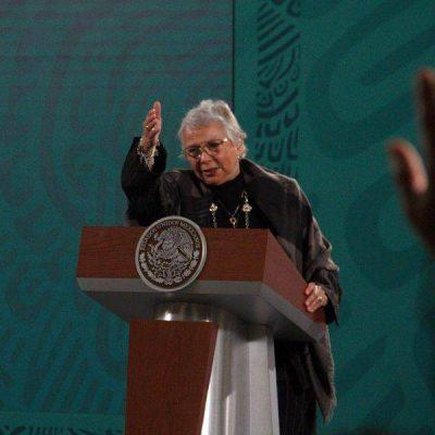 AMLO se opone al aborto, asegura la secretaria de Gobernación, Olga Sánchez