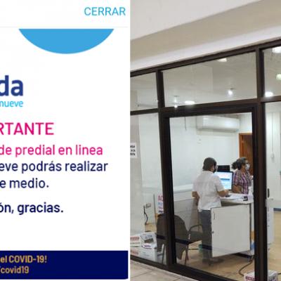 Buena respuesta ciudadana al pago del predial en Mérida: se satura el sistema