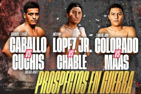 El boxeo dice presente en 2021 con 'Prospectos en Guerra'