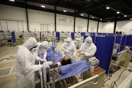 Peligroso repunte de pacientes hospitalizados por Covid-19 en Yucatán