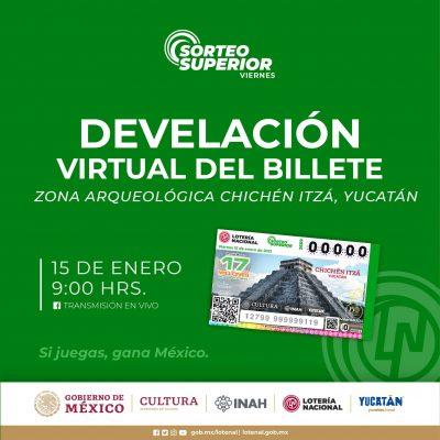 La Lotería Nacional dedica billete y sorteo a Chichén Itzá