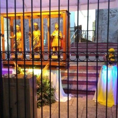 Cierran Santuario de los Reyes en Tizimín para evitar aglomeraciones
