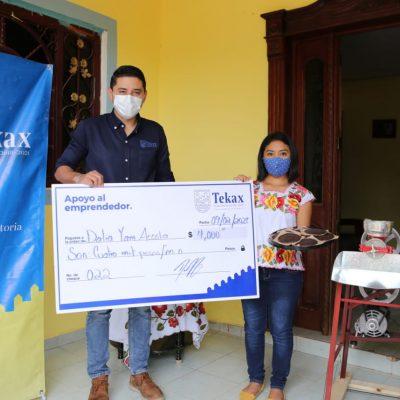 Diego Ávila continúa impulsando la reactivación económica de Tekax
