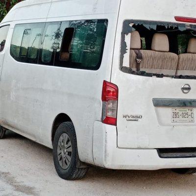 Convierten ambulancia de traslado de enfermos en vehículo para operativos del PRI