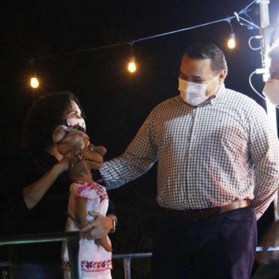 El alcalde Renán Barrera impulsa acciones a favor de la educación