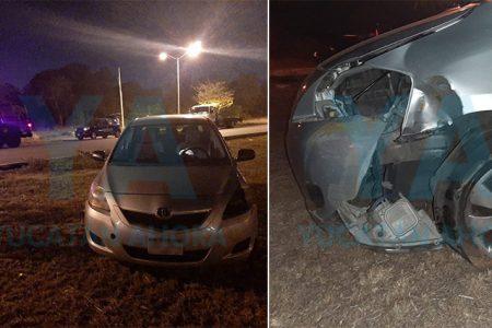 Dormita y se accidenta una conductora en Gran Santa Fe