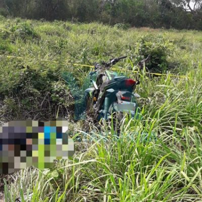 Fallece un motociclista en la carretera Buctzotz-Santo Domingo