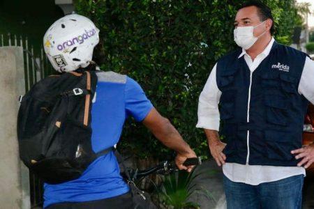 Realiza Renán Barrera pláticas de socialización de la nueva ciclovía en Mérida