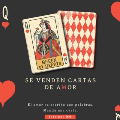 Yucateca vende cartas de amor para este 14 de febrero