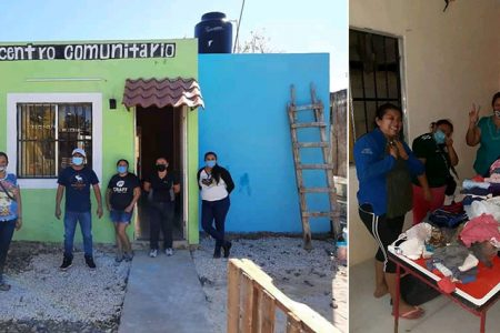 Vecinos recuperan casa invadida y la convierten en centro de apoyo comunitario