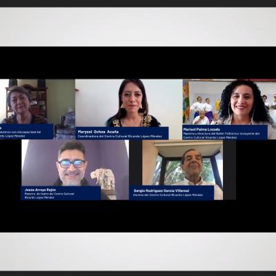 Estudiantes y docentes dan voz al Centro Cultural 'Ricardo López Méndez'