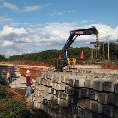 Yucatán tendrá la primera fábrica de durmientes para el Tren Maya