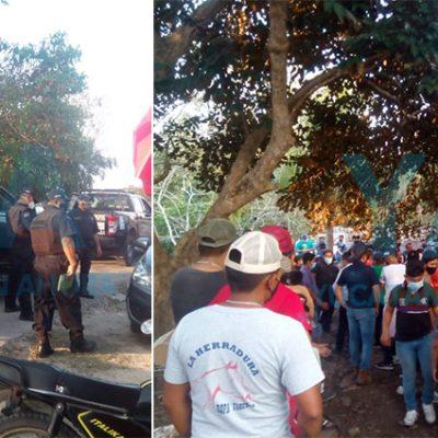 Suspenden pelea de gallos con aglomeración en Xcanchakán