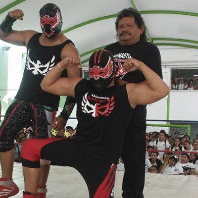 Halcón Rojo, del ring de la lucha libre a conductor de plataforma de transporte