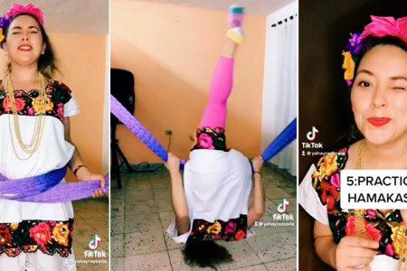 Yucateca explica los ocurrentes usos de la hamaca en TikTok