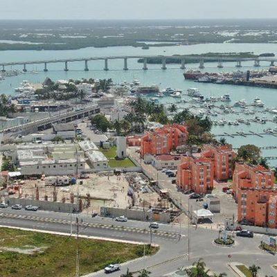 Avanza la construcción del Hospital General Naval de Progreso
