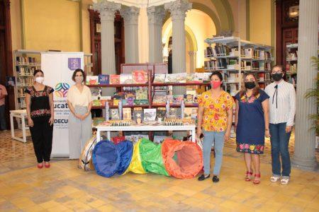 Yucatecos de los 106 municipios tendrán acceso a libros editados por la Sedeculta