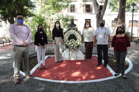 Conmemoran el CXIII aniversario del natalicio de Leopoldo Peniche Vallado