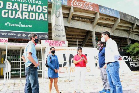 Nuevo Mega Punto Verde en el estadio Carlos Iturralde