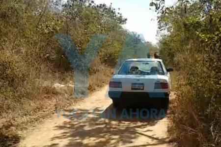 Hallan cuerpo con huellas de violencia en una brecha del camino a Xmatkuil