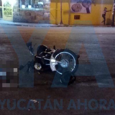 Trágico descuido le cuesta la vida a un motociclista