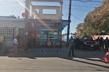 Asalta con pistola de gas a un transeúnte y una panadería, en Progreso