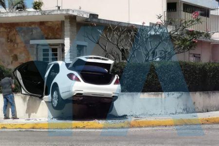 Accidente como de película en la colonia México