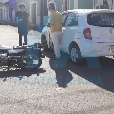 Domingo adolorido: lo atropella auto que se 'voló' la luz roja del semáforo