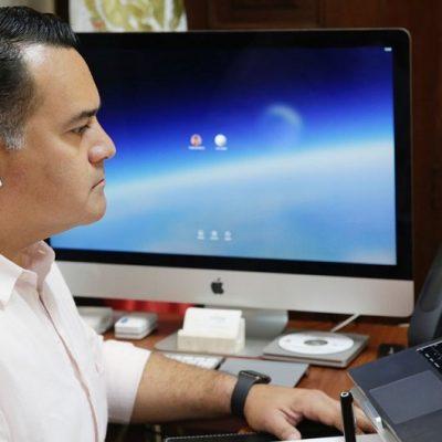 Renán Barrera firma convenio con la 'Red Nacional de Refugios'