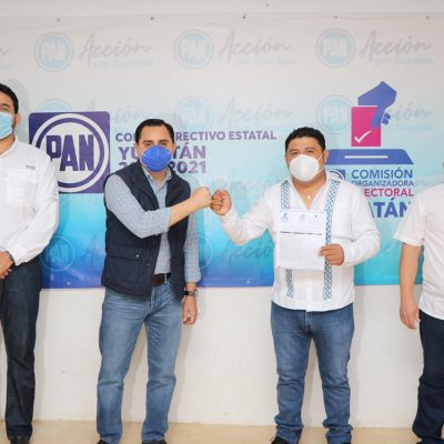 Se registran en el PAN más de 50 aspirantes a las alcaldías de Yucatán