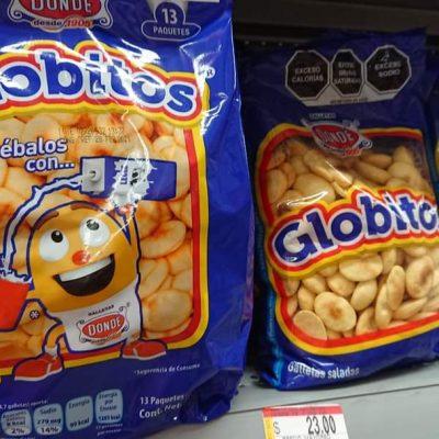 Personajes de Globito y Bizcochito desaparecen de los empaques de galletas