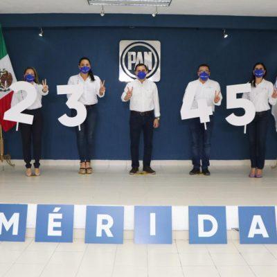 Se registran aspirantes a diputaciones locales por el PAN Yucatán