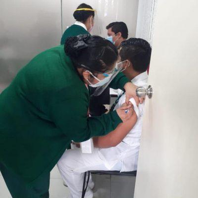 Retrasan un día la llegada de nuevos lotes de vacunas Covid-19 a Yucatán