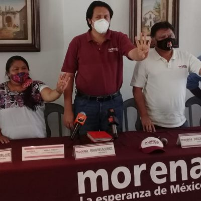 Morena Yucatán se rebela contra la cúpula nacional: no quieren a Pérez Moguel