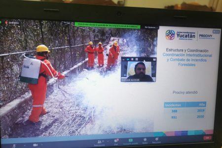 Instalan Comité Estatal del Programa de Prevención y Combate de Incendios 2021