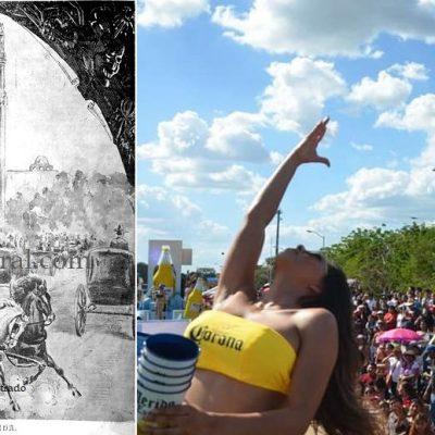 El Carnaval en Mérida, una tradición que se remonta a cuatro siglos atrás
