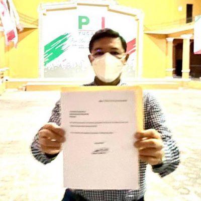 Renuncia al PRI el diputado local por Umán, Enrique Castillo Ruz