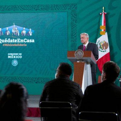 Se pronuncia AMLO contra ideas de regular las redes sociales en México