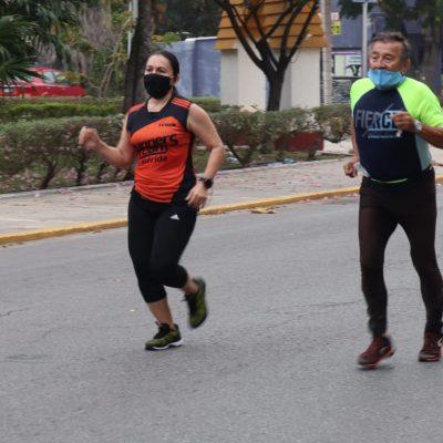Homenajes y salida simbólica al iniciar el Corre por Mérida 2021