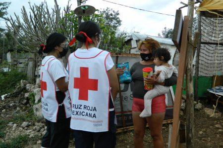 Ayudar a los más vulnerables, misión de la Cruz Roja en Yucatán