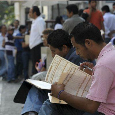 Población ocupada baja 2.4 millones de personas en México