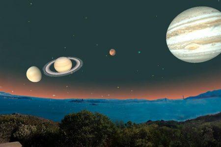 Desfile astronómico será visible la madrugada de mañana en Yucatán