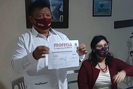 Se registra Ismael Peraza como precandidato de Morena por Mérida