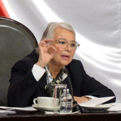 Olga Sánchez Cordero se descarta para la Presidencia de la República en 2024