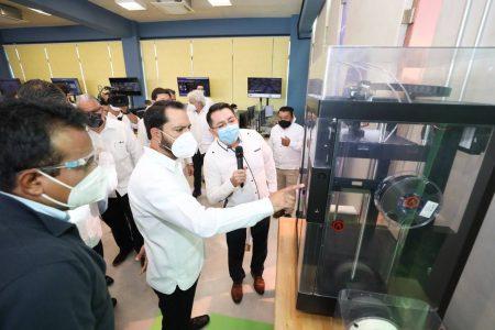 Inauguran Laboratorio Académico de Innovación, Diseño y Manufactura Digital de la UPY