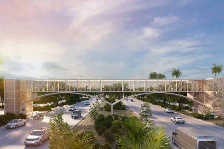 Nuevos puentes peatonales del Periférico tendrán elevadores para sillas de ruedas