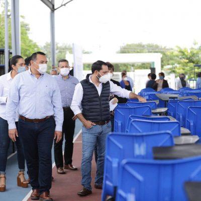 Gobierno de Yucatán equipa con nuevo mobiliario a 22 escuelas públicas de Mérida
